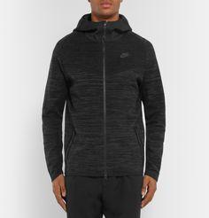 Nike Tech Fleece coupe-vent gris chiné