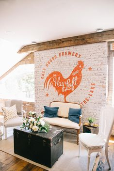 Niagara Oast House Brewers Pop Up Wedding Day! Decor by: Bloom & Co and Beth Duc Sparkle & Twine Event Planning Photo Cred: Nataschia Wielink Stone Road, Niagara Region, Twine, Pop Up, Event Planning, Wedding Day, Bloom, Sparkle, Tapestry