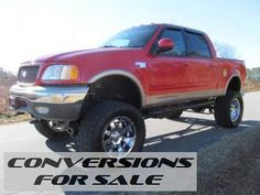 2001 Ford F-150 Lariat Lifted Truck
