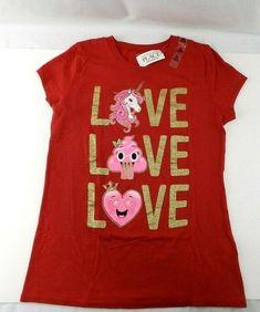 NWT Gymboree Smart Kitties 3-6 2T I Love Cats Shirt Top Pink Girls Heart Kitty