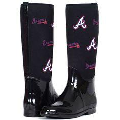 Atlanta Braves Enthusiast Rain Boot by Cuce Shoes  - MLB.com Shop