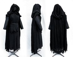 Portfolio of Fantasy Custom Costumes created by Twin Roses Designs. Costume Design and Construction by Andrea Wakely. Sith Lord Costume, Darth Maul Costume, Jedi Outfit, Witch Outfit, Darth Nihilus, Star Wars Sith, Star Wars Costumes, Fantasy Costumes, Costume Design
