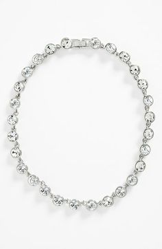Givenchy Crystal Station Collar Necklace (Nordstrom Exclusive) available at #Nordstrom
