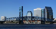 Main Street Bridge, Jacksonville. Scene of the first stunt walk (can't you just see it?).