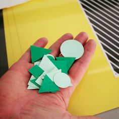 Confetti? Nope! Just the perfectly shaped paper decorations for our brightest and happiest gif yet.