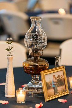 Oil Lantern Centerpieces