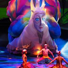 Las Vegas Shows, Treasure Island, Scary, Whimsical, Vibrant, Fictional Characters, Cirque Du Soleil, Im Scared, Fantasy Characters