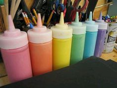 Never buy paint again- 1cup salt, 1cup flour, 1cup water and food coloring!