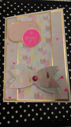 Papermania Capsule Geometric Mono Little Notes Die Cut great for cards /& crafts