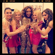 GIRL POWER celebration!   A Post Dedicated To The Spice Girls Reunion