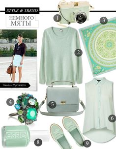 Mint mint mint! (my favorite trend for the spring!)