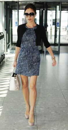 Joseph Stella tweed shift dress