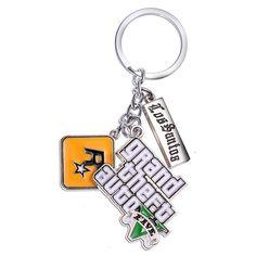 PS4 GTA 5 Game Keychain Grand Theft Auto 5 Key Chain 4.5cm Key Holder Xbox Fans   | eBay