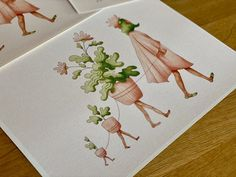 Plant walk - plant lover illustration / botanical print / botanical wall decor / house plant print / plant art Plant Art, Plant Illustration, All Poster, Botanical Prints, Beautiful Artwork, House Plants, Illustrations Posters, Decor Styles, Color Schemes