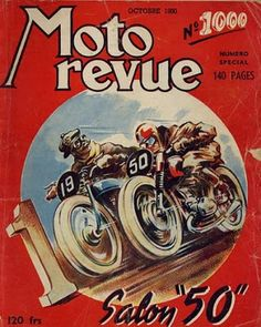Vintage French motorcycle magazine