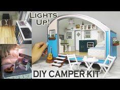 DIY Caravan Dollhouse Kit (with a modern spin!) - YouTube
