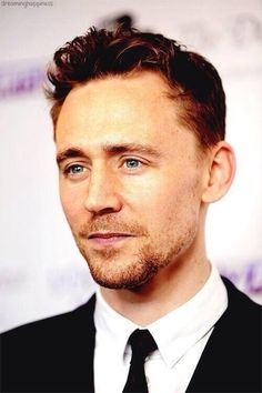 Tom Hiddleston...don't mind me...over here remembering how to breathe