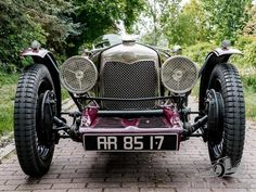 Car Riley Monaco Brooklands 1933 for sale. Beautiful 1933 Riley Monaco Brooklands for sale. Beautiful looking and in super condition. Car has a 4 Vintage Cars, Antique Cars, Rolls Royce Cars, Car Themes, Best Muscle Cars, Car Show, Sport Cars, Old Cars, Monaco