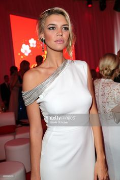 Kelly Rohrbach , girlfriend of Leonardo DiCaprio, attends the Mon Cheri Barbara Tag 2015 at Postpalast on December 4, 2015 in Munich, Germany.