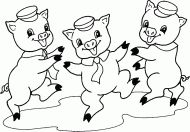 Three Little Pigs pictures