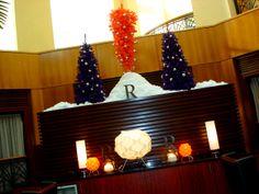Christmas Decorations 2013 #RenSouthPark #Renaissance #Charlotte #UpsideDownTree