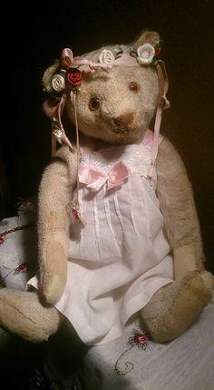 My Steiff, white teddy bear