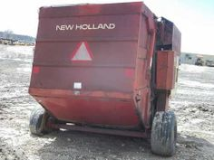 New Holland 855 baler. Salvaged for used parts. All States Ag Parts 877-530-4430