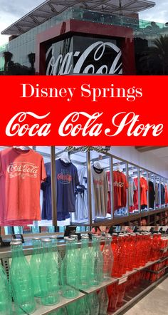 Explore the HUGE Disney Springs Coca-Cola Store at Walt Disney World. Read these tips before you go, so you know what to expect.