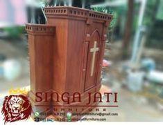 Mimbar Gereja Pentakosta Indonesia Kayu Jati Model Terbaru Online Furniture, Interior, Indoor, Interiors