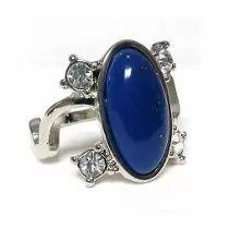 Anel Elena The Vampire Diaries C/ Pedra Lapis Lazuli