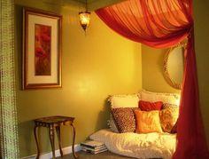 Meditation Room Ideas | Places for meditation at home. #HomeGoods #DesignHappy #Meditation