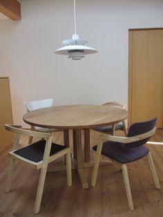 無垢 丸テーブル