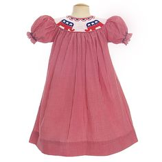 Smith Smith Republican smocked dress - love this! Republican Girl, Future Daughter, Daughters, Baby Love, Baby Dress, Little Ones, My Girl, Baby Kids, Kids Fashion