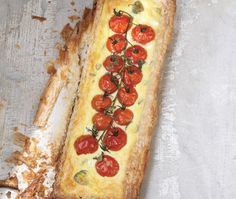 Tomato & Goat Cheese Quiche - Chef Lynn Crawford