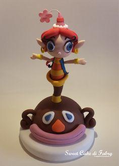 Fabrizio Gaboardi - Sweet Cake di Fabry #cakedesign #cartoon #sbadiglio
