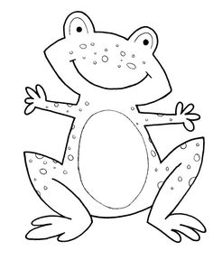 Free Printable Animal Coloring Pages Frogs Frog Color