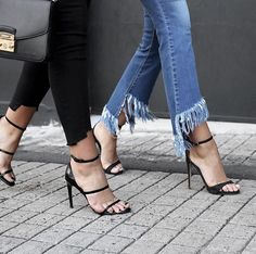 Heeled sandals and jeans --> Shoes  Pinterest: @FlorrieMorrie00 Instagram: @flxxr_