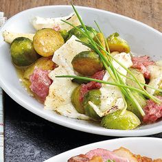Rosenkohl mit Zwiebelmett Rezept | Küchengötter