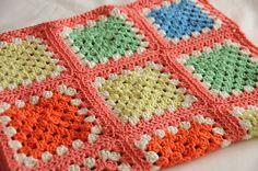 Ravelry: melizabeth's Bright stripey squares