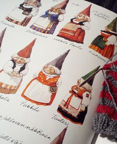 Lady gnomes...