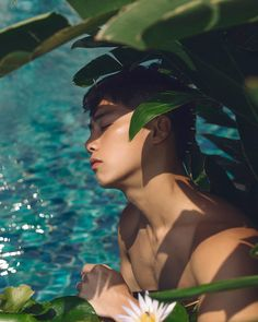 ▷ @xxdaniel - XXDanieL Pro Photographer - @chengchangfan in Thailand. #XXDANIEL #photography #ph Cone Bra, Tropical Flowers, Madonna, Swimming Pools, Bikinis, Swimwear, Lily, Blue And White, Asian