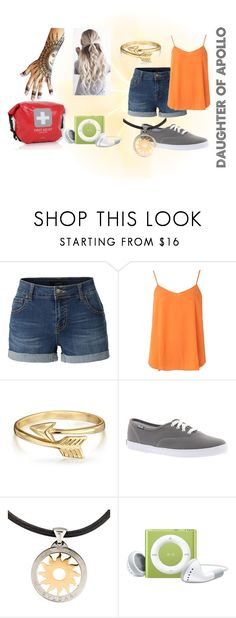 """Percy Jackson Inspired: Daughter of Apollo"" by fandomzzforlyfe ❤ liked on Polyvore featuring LE3NO, Dorothy Perkins, Bling Jewelry, Keds, Bulgari, percyjackson, pjo, heroesofolympus and hol"