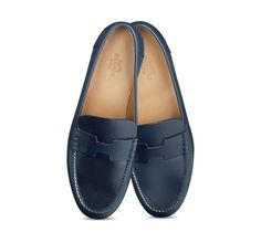 Irving, Hermes ladies\u0026#39; driving moccasin in black calfskin, very ...