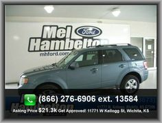 2011 Ford Escape Limited SUV  Compass, Roof Rack, Tires: Profile: 70, Fuel Capacity: 17.5 Gal., Front Head Room: 40.4, Privacy Glass: Deep, Tachometer, Overhead Console: Mini With Storage, Seatback Storage: