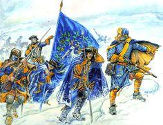 The Jamtland Regiment, 1719.