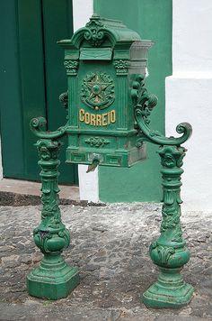 old mailbox.Brazil