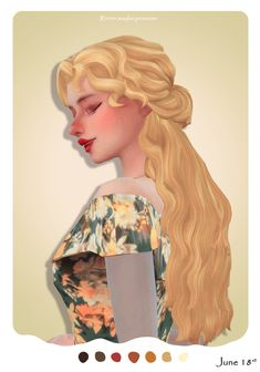 Rirrier Hair | forestsims on Patreon Sims 4 Mm Cc, Sims Four, Sims 4 Mods Clothes, Sims 4 Clothing, Maxis, Medieval Hairstyles, Japanese Hairstyles, Korean Hairstyles, Men Hairstyles