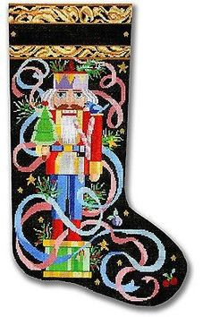 Image result for nutcracker christmas stocking