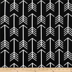 Premier Prints Arrow Black from @fabricdotcom  Screen printed on cotton duck; this versatile medium weight fabric is perfect for window accents (draperies, valances, curtains and swags), accent pillows, duvet covers and upholstery. Create handbags, tote bags, aprons and more. *Use cold water and mild detergent (Woolite). Drying is NOT recommended - Air Dry Only - Do not Dry Clean. Colors include white and black.