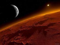 Il pianeta #rosso. La vita sulla Terra potrebbe essere arrivata da Marte con un meteorite sfuggito alla sua orbita